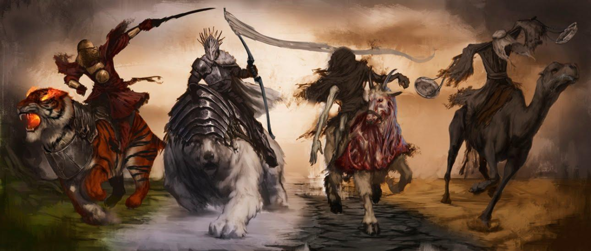 Book of Revelation 101: The Four Horsemen of the Apocalypse