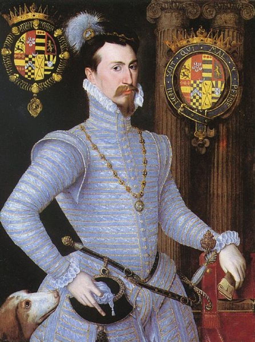 Did Robert Dudley want revenge for his father?
