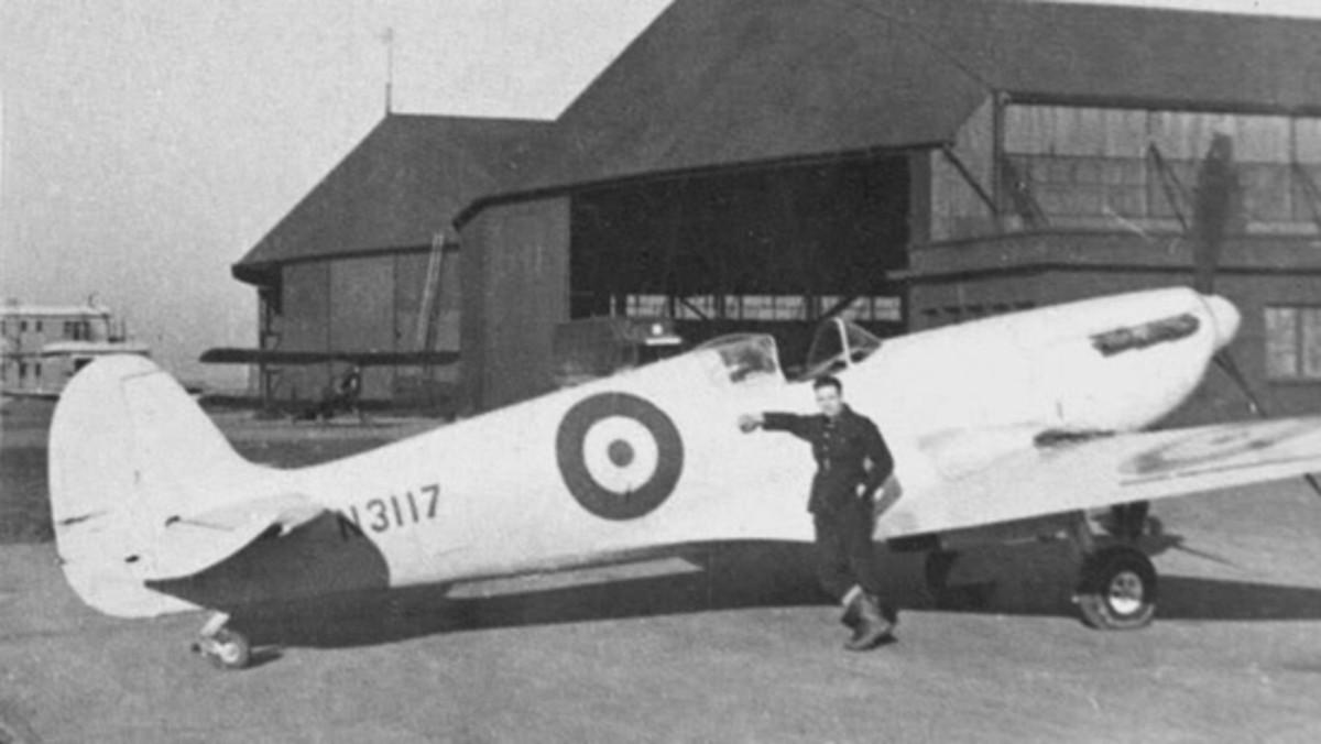 PRU unarmed Spitfire