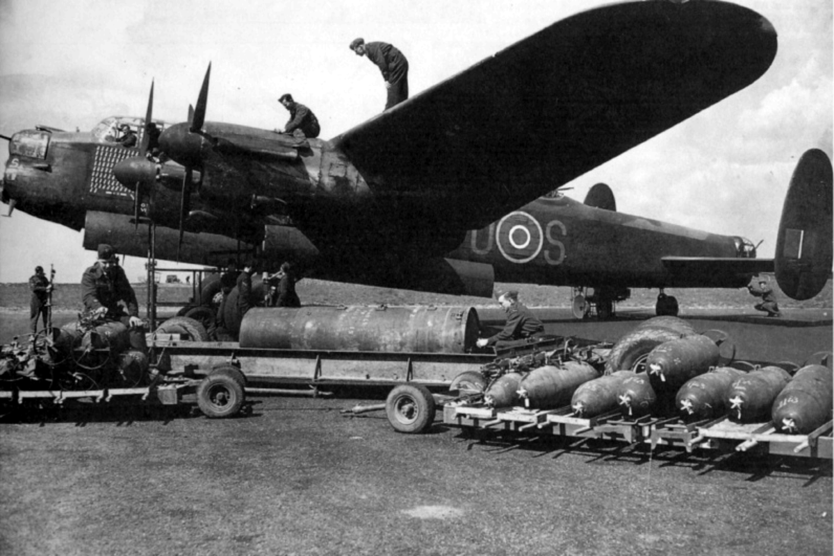 Avro Lancaster Bomber - suffered from Gremlins in the propellors.