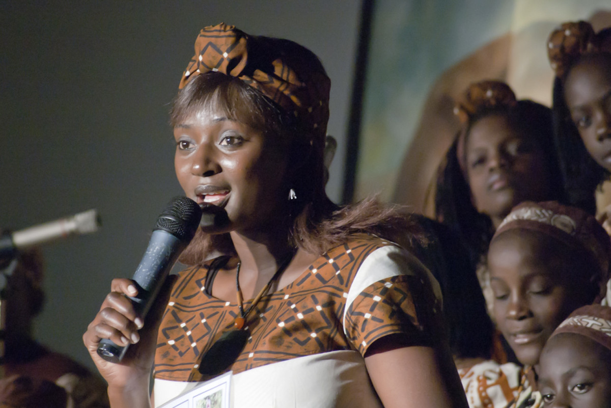 From Uganda, Wototo children's choir performing at Frankston Victoria in July 2006.
