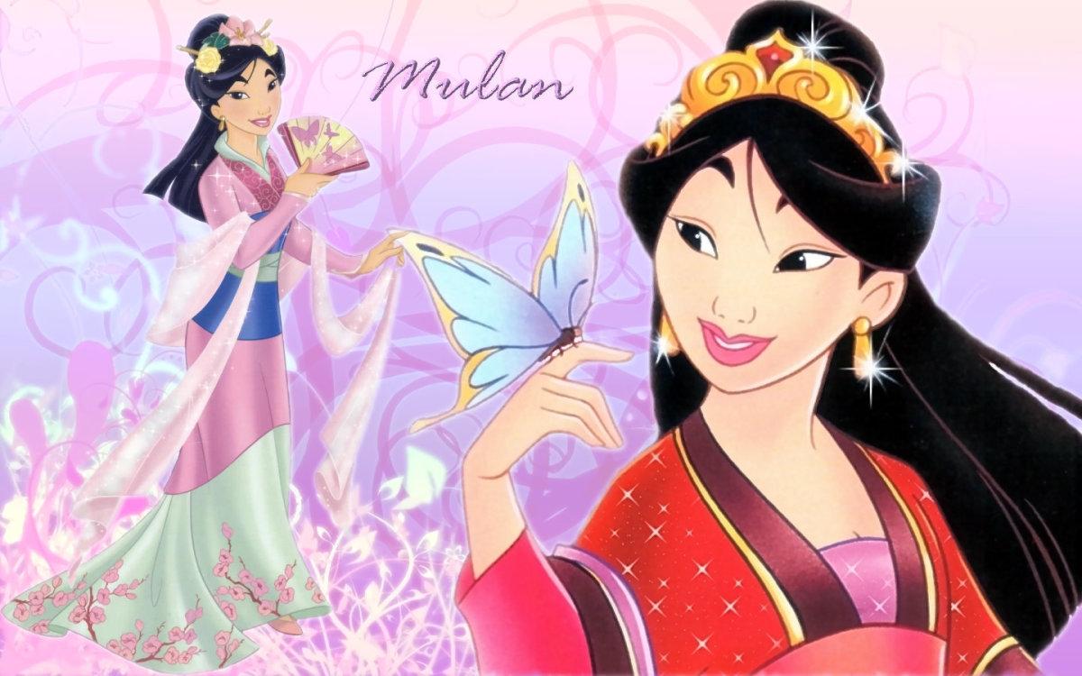 Beautiful Fa Mulan
