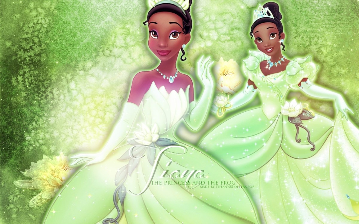 Princess Tiana from Princess and the Frog