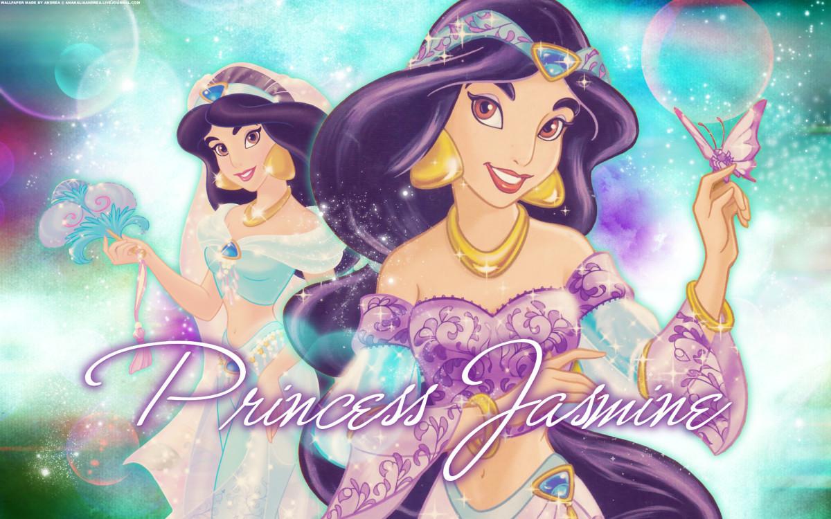 Jasmine from Disney's Aladdin