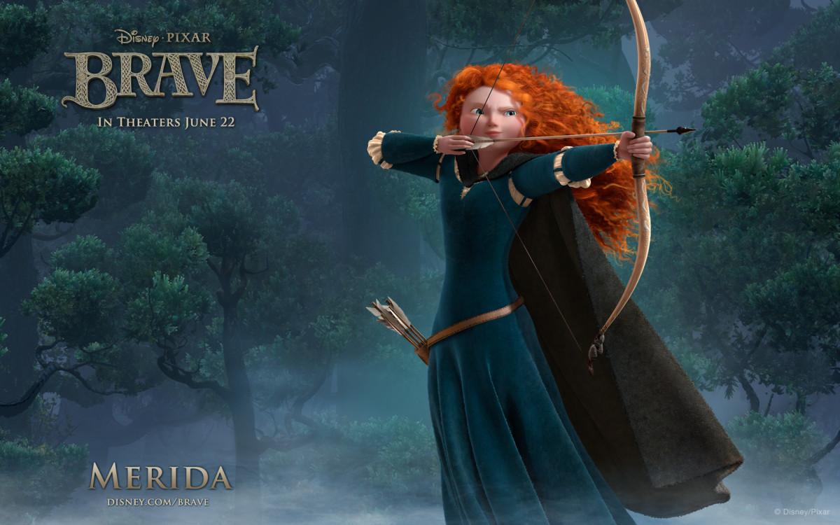 Princess Merida from Pixar's Brave