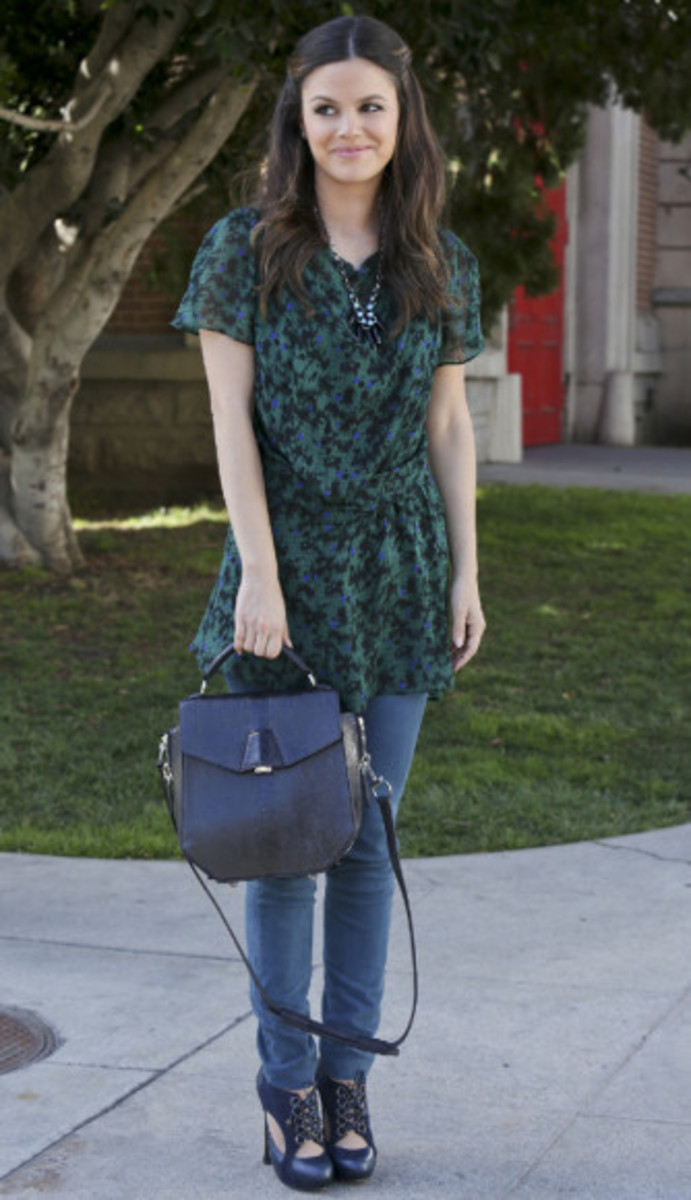 Rachel Bilson is petite yet still a member of the pear shaped team