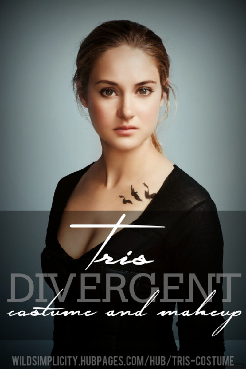 Tris Divergent Costume and Makeup