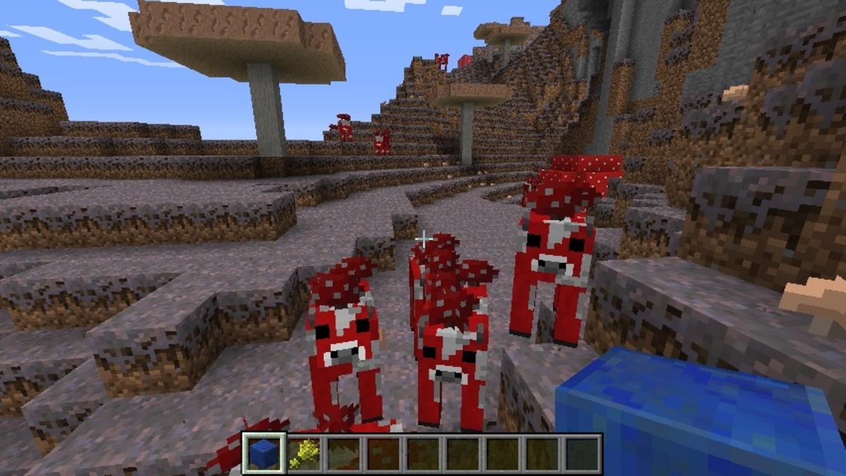 Minecraft mushroom biome seed list 1.5.2 - 1.6.4 (videos)