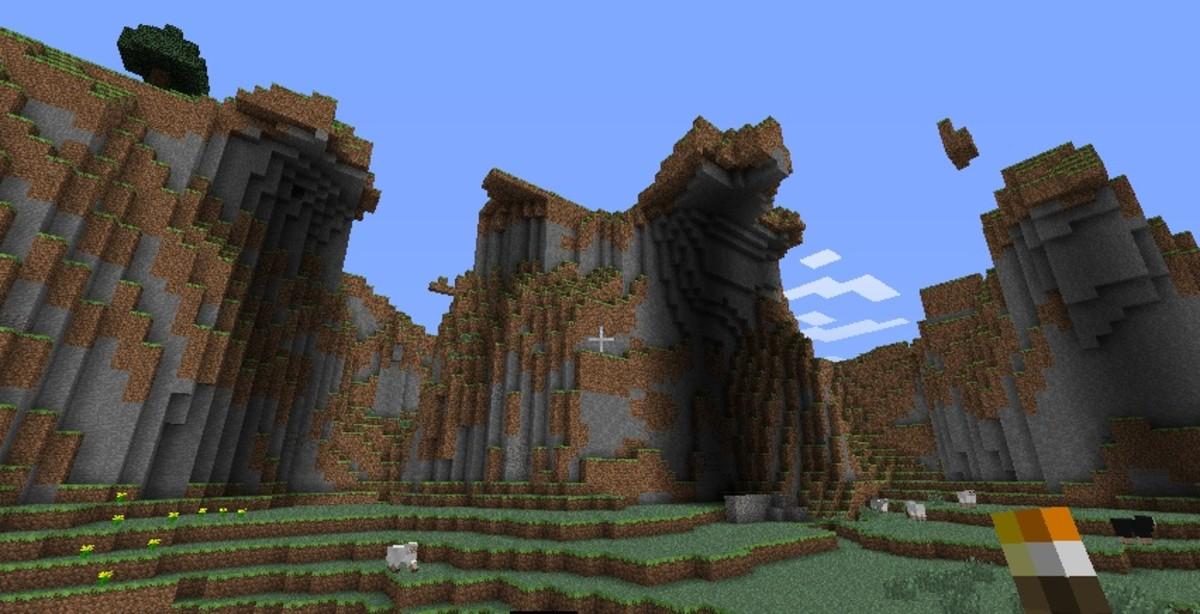 Minecraft mountain seed list 1.5.2 - 1.6.4 (videos)