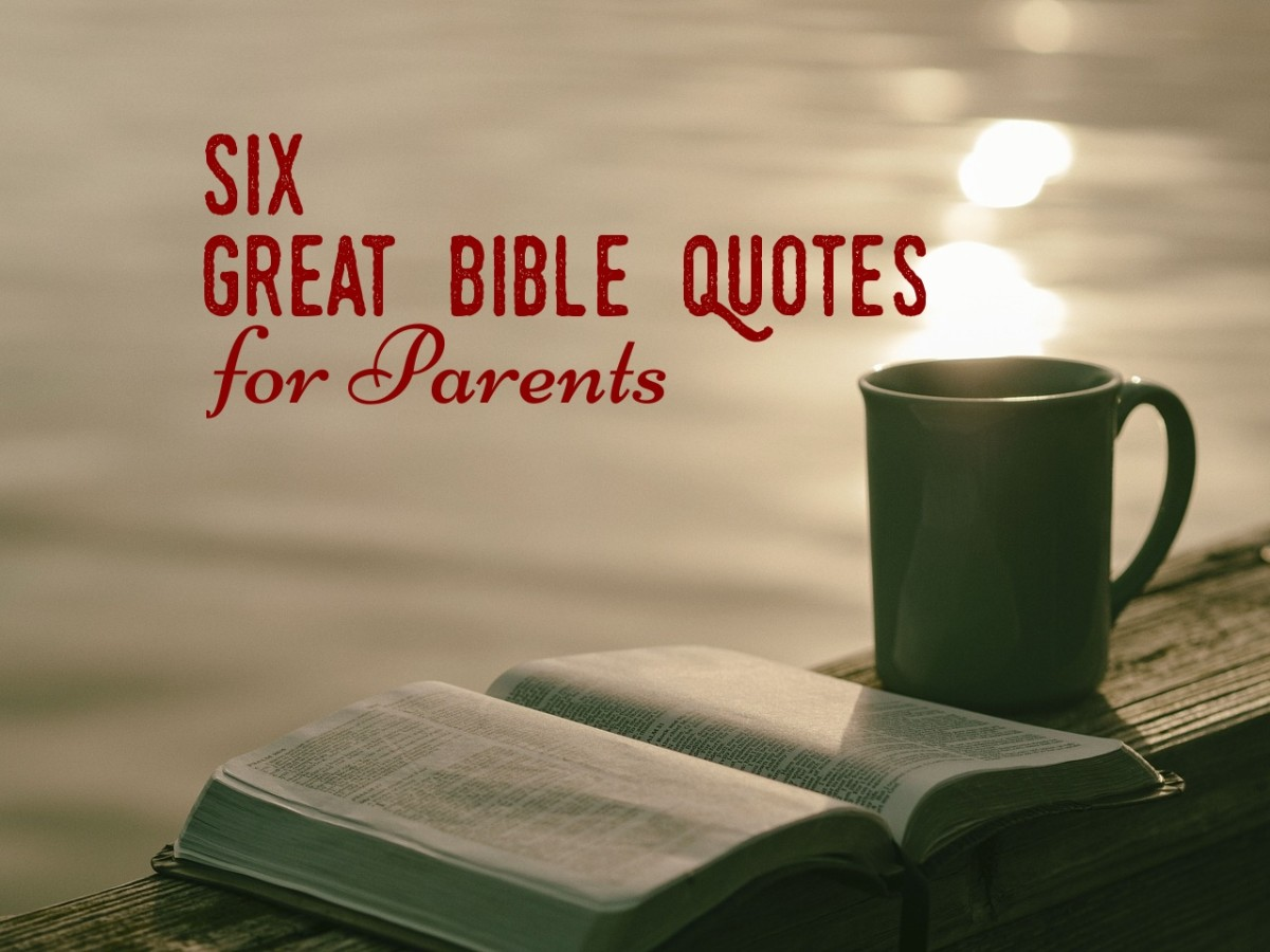 Six Great Bible Quotes for Parents