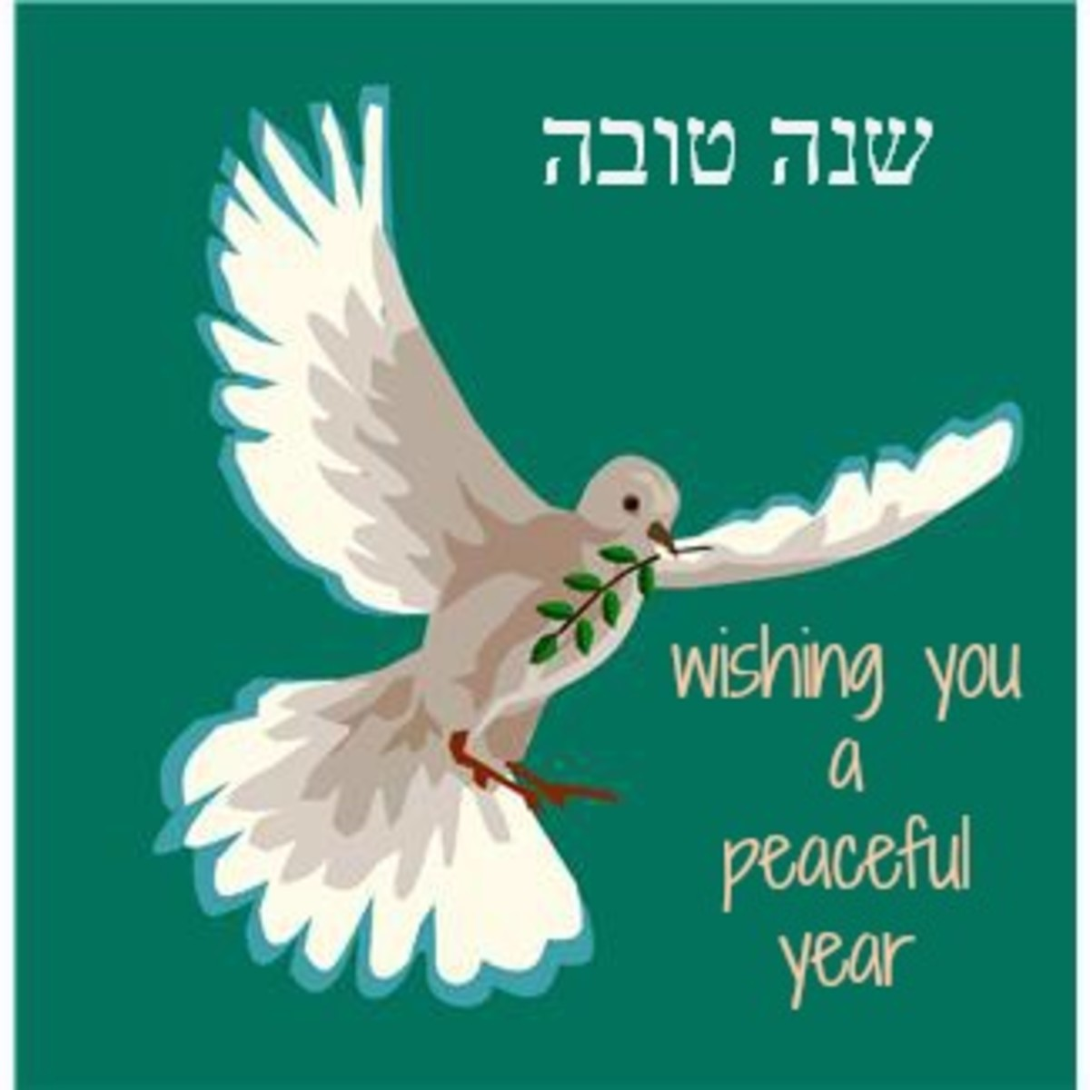 Wishing you a peaceful year