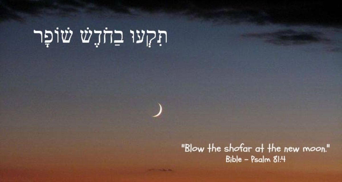 """Blow the shofar at the new moon."""