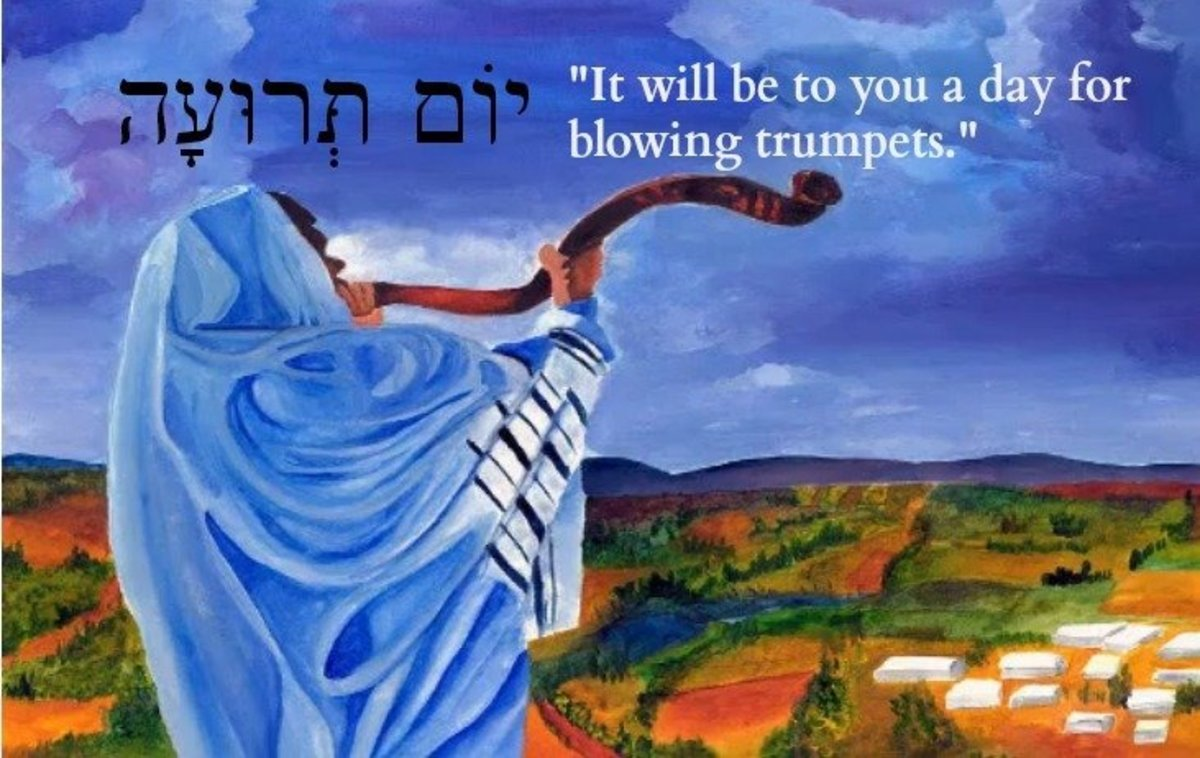 """It will be to you a day for blowing trumpets."""