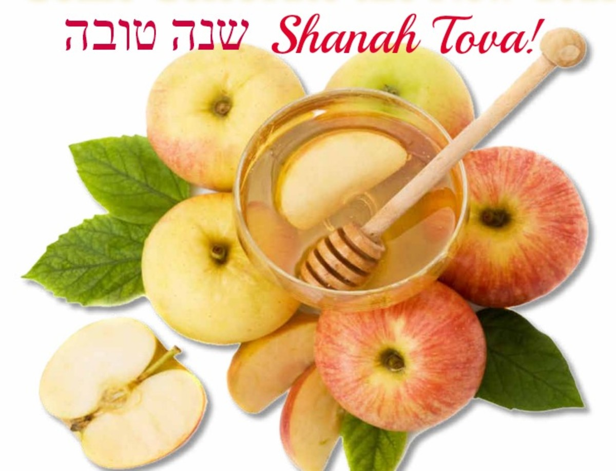 Apples and Honey for Jewish New Year