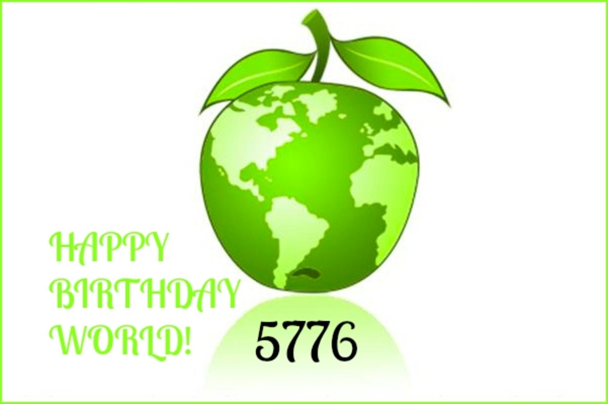 Happy Birthday to the  World 5776