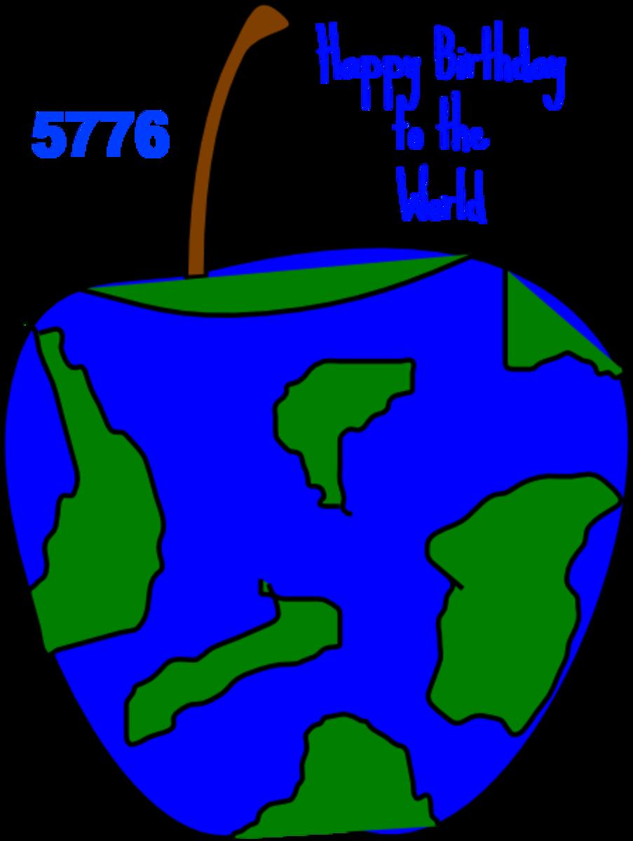 Happy Birthday World 5776