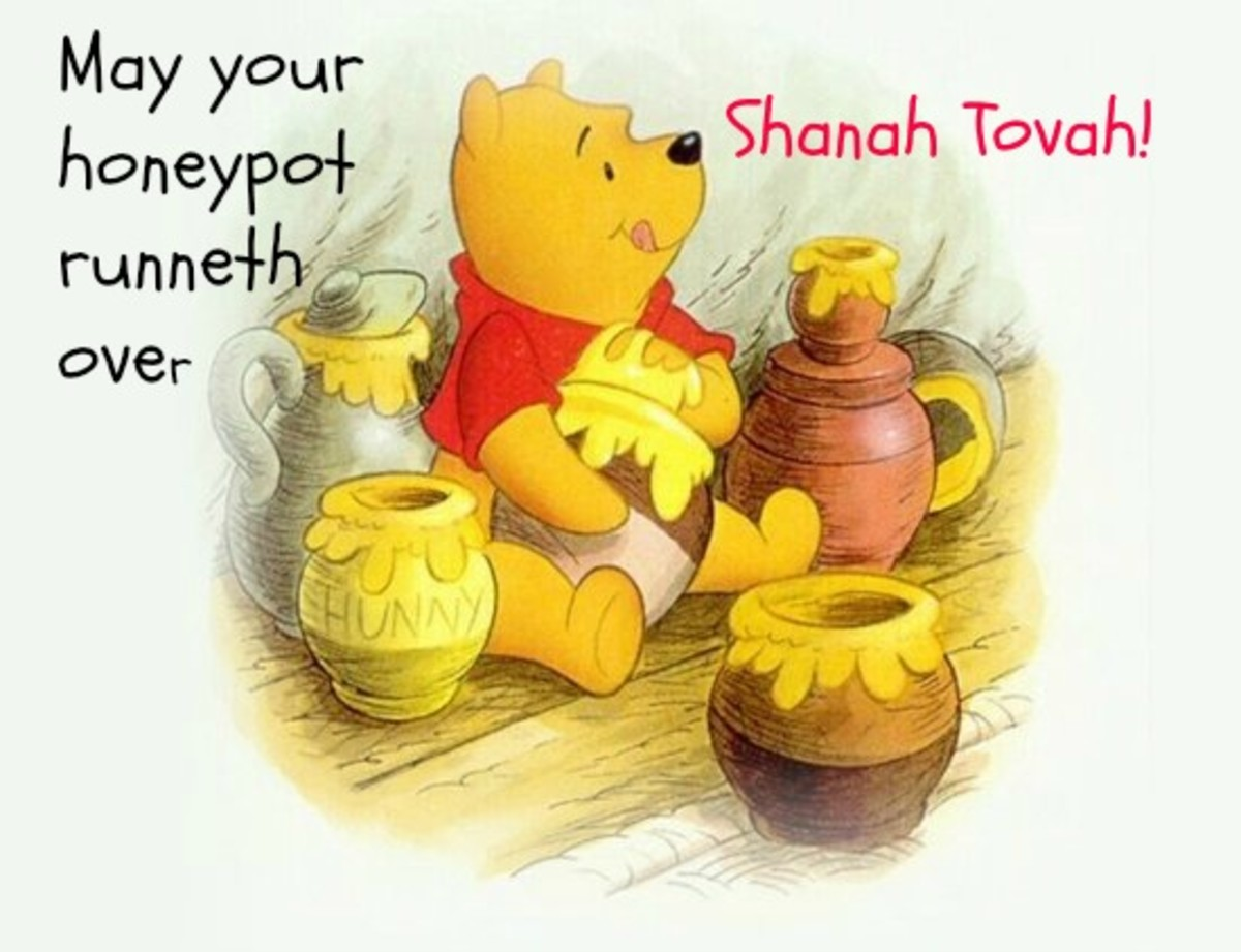 Happy Jewish New Year Greeting