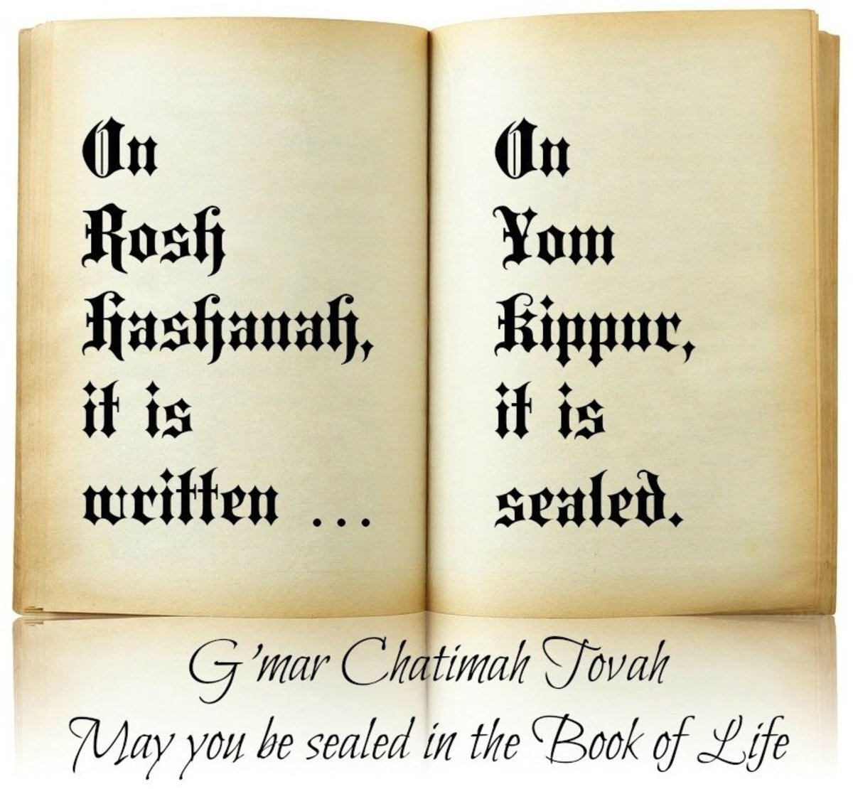 from the Jewish High Holiday Prayer Book