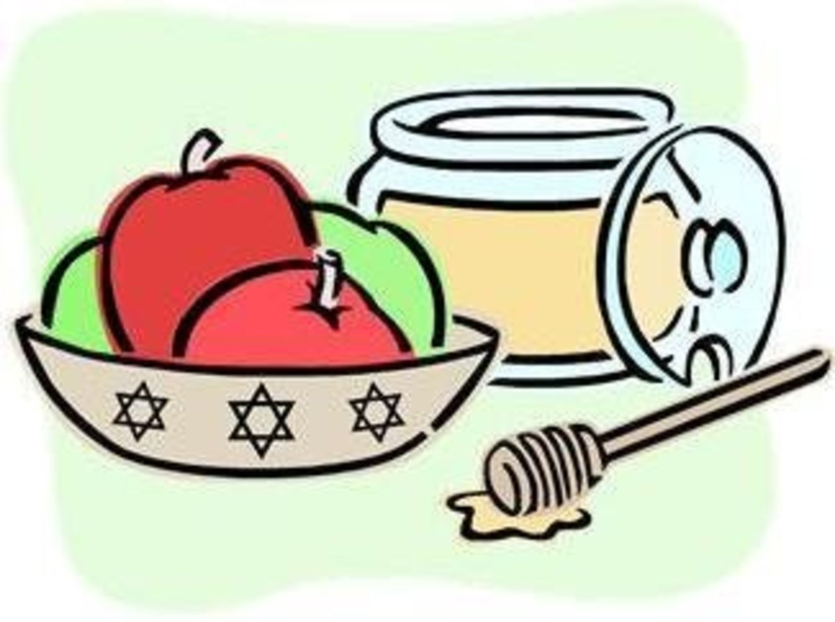 Apples and Honey Pot