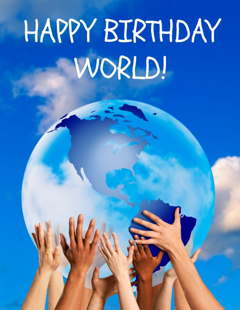 Happy Birthday World!