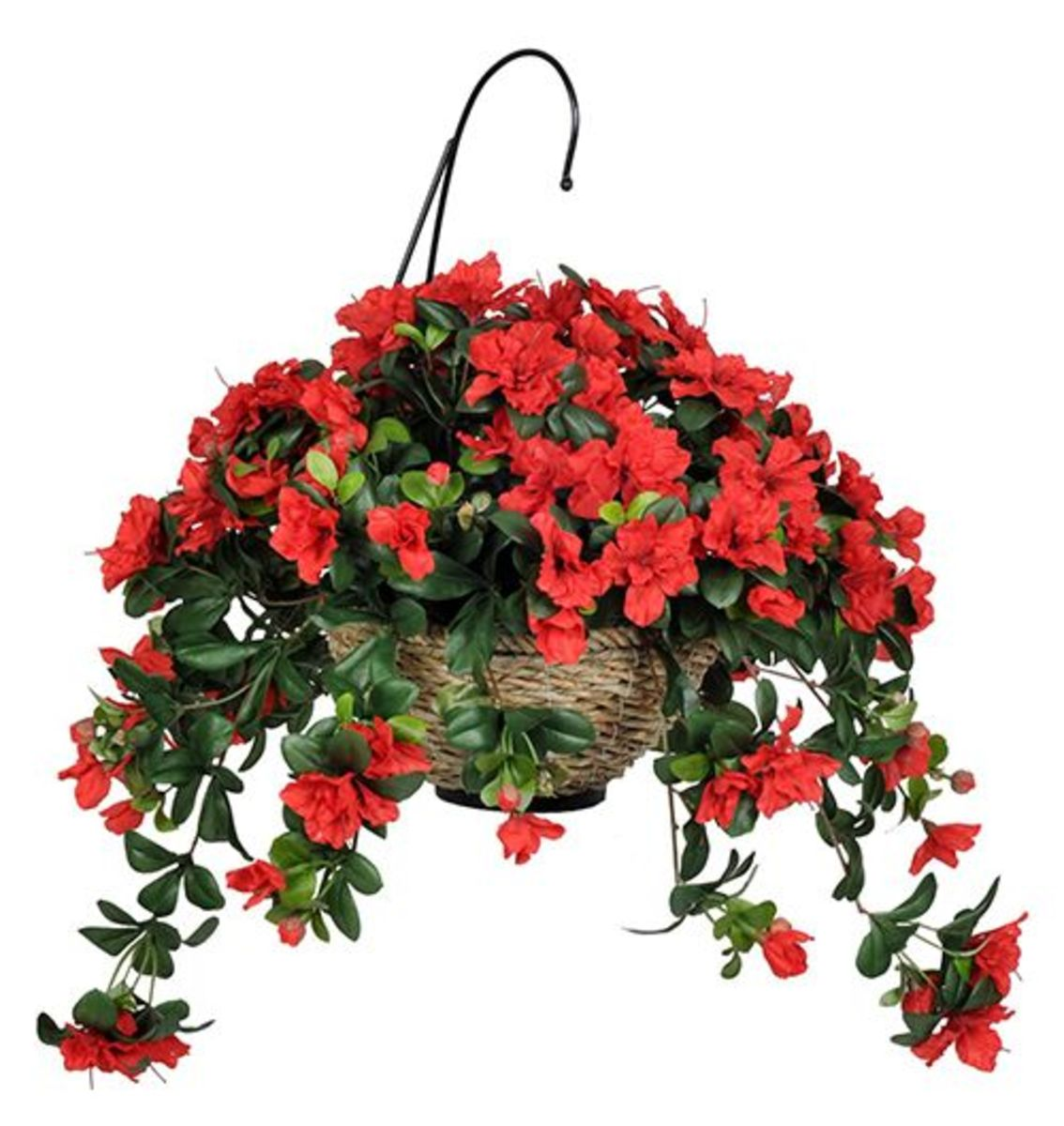 Beautiful Artificial Hanging Flower Baskets Autumn Home
