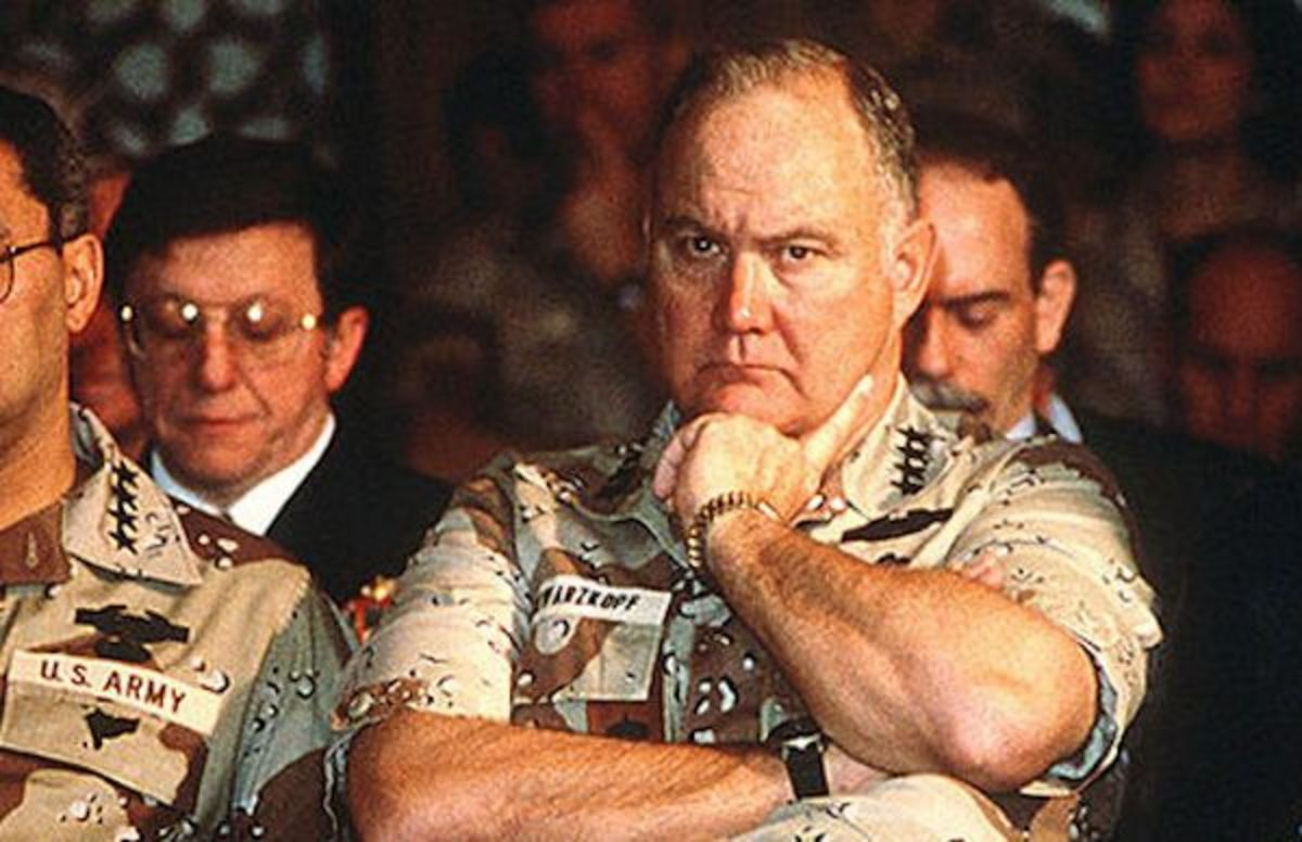 General Norman Schwarzkopf Wore Two Watches