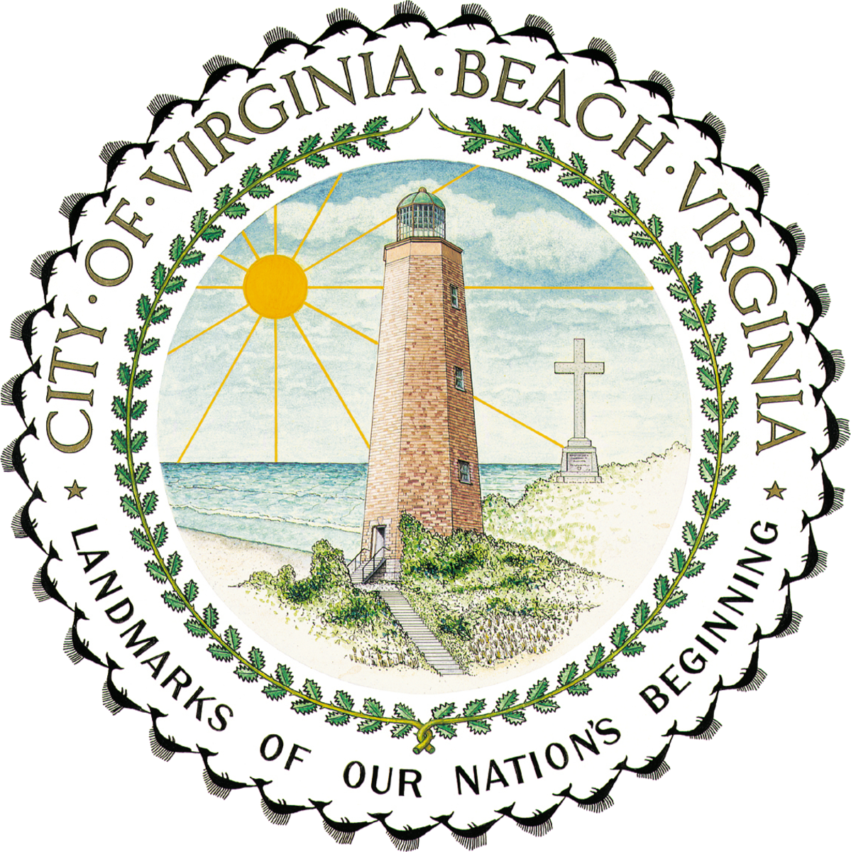Seal Of Virginia Beach!