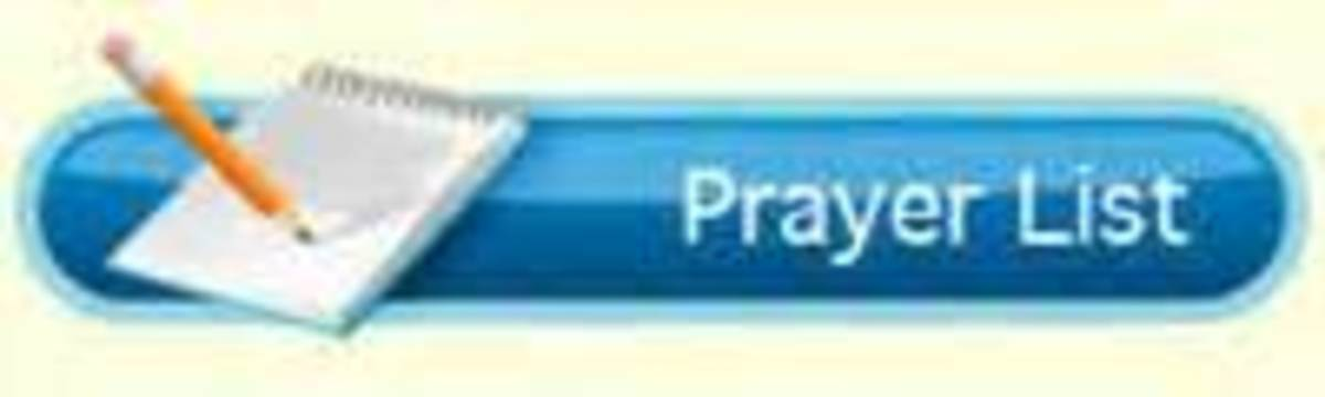 What's on your prayer list?