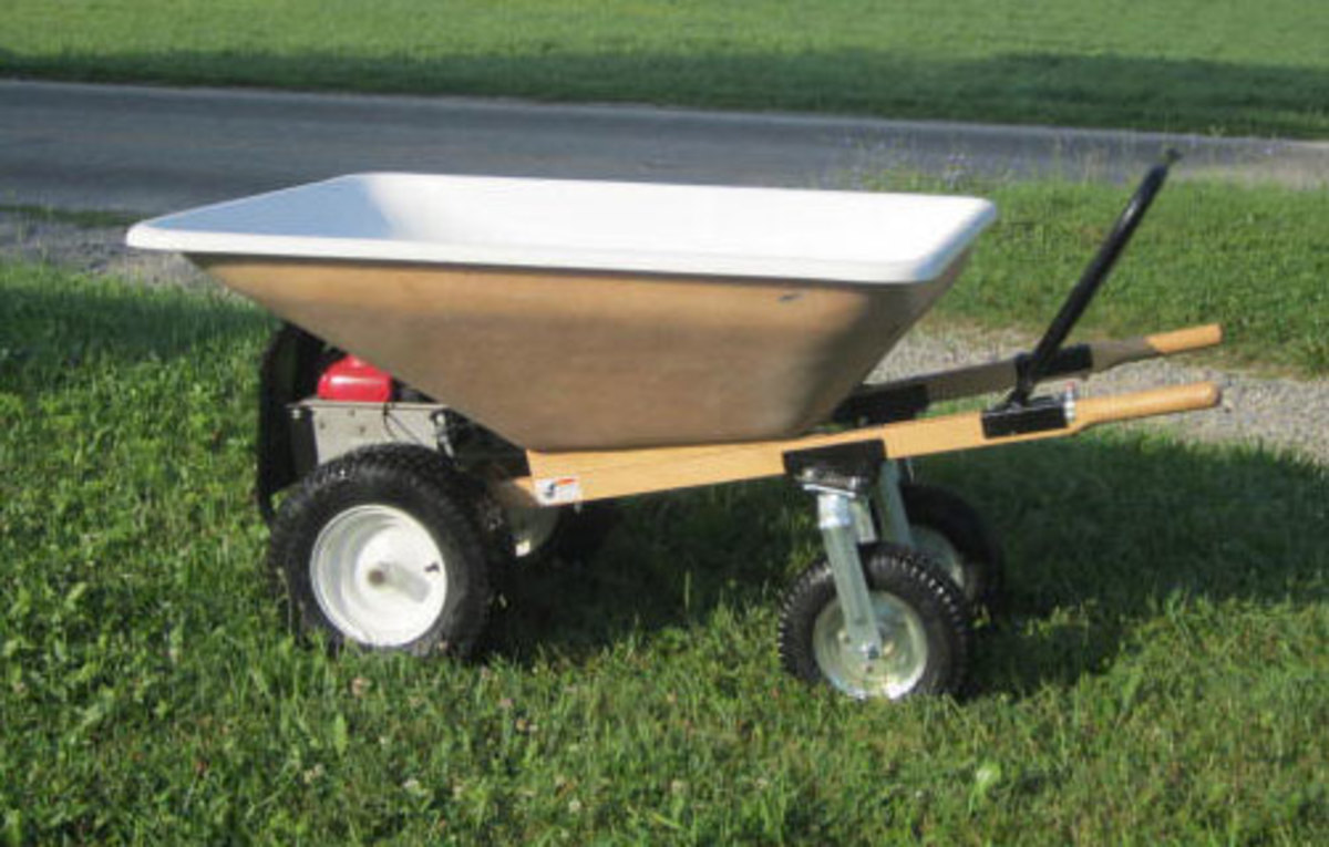 Amish EZ Motorized Wheelbarrow