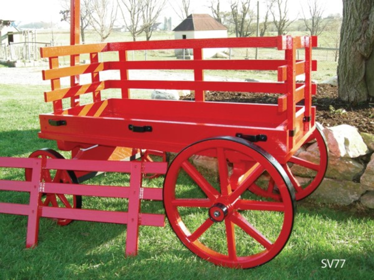 Amish reproduction Express Wagons