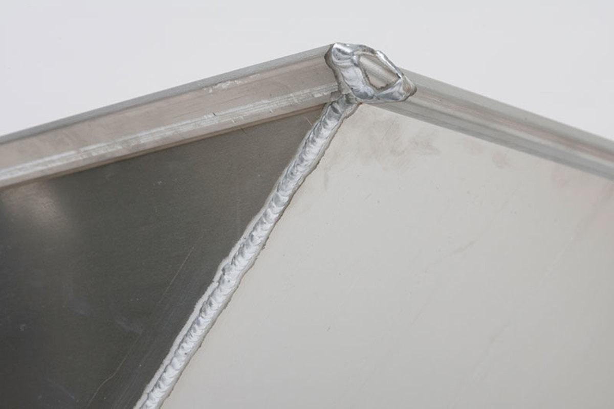 """1/8"""" solid welded aluminum"""