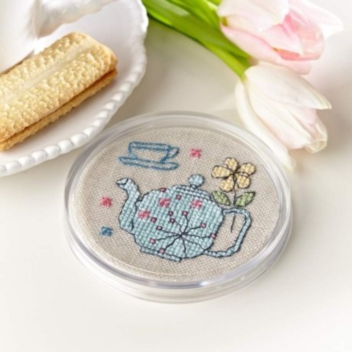 Stitched Coaster