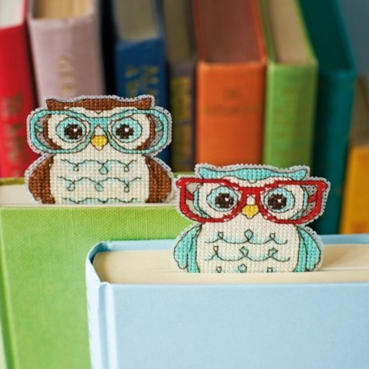 Stitched Bookmarks