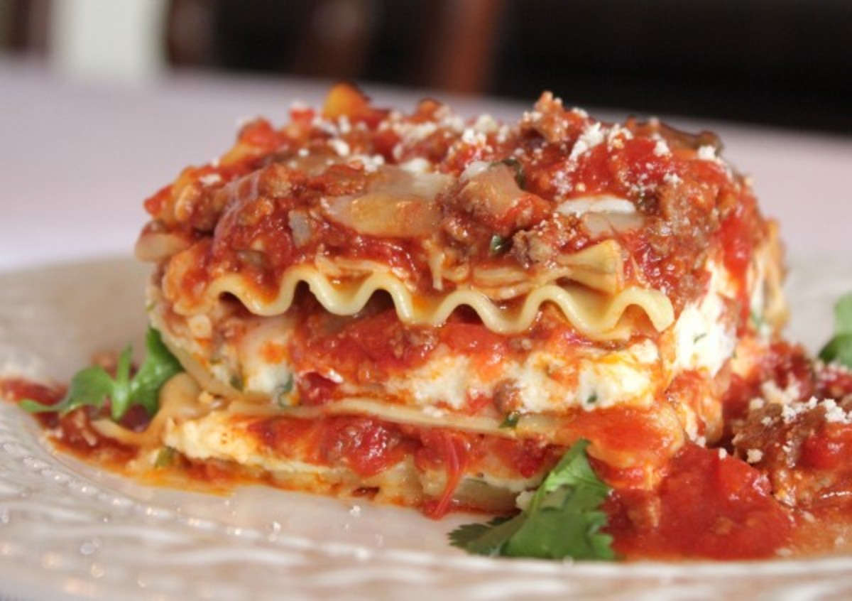 The World's Best Lasagna!