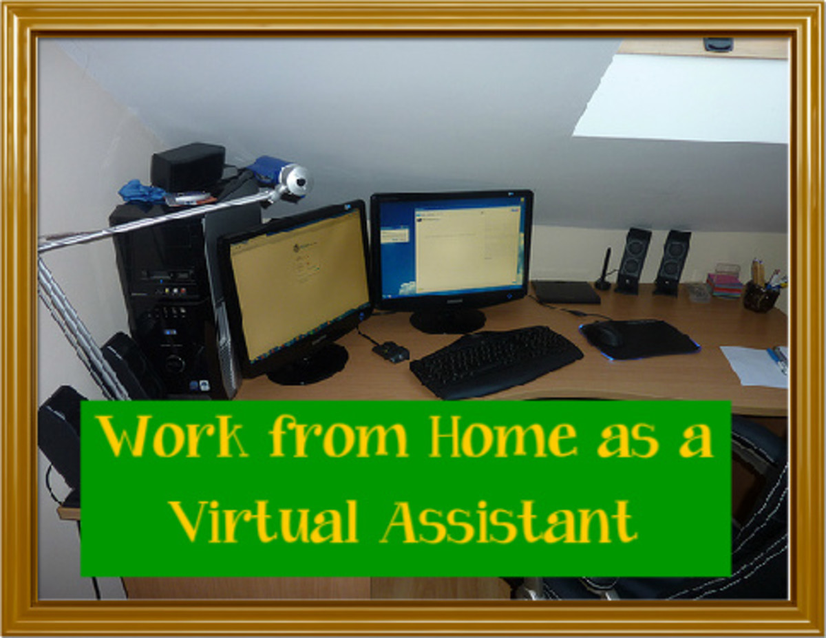 Work from Home as a Virtual Assistant and Be Your Own Boss