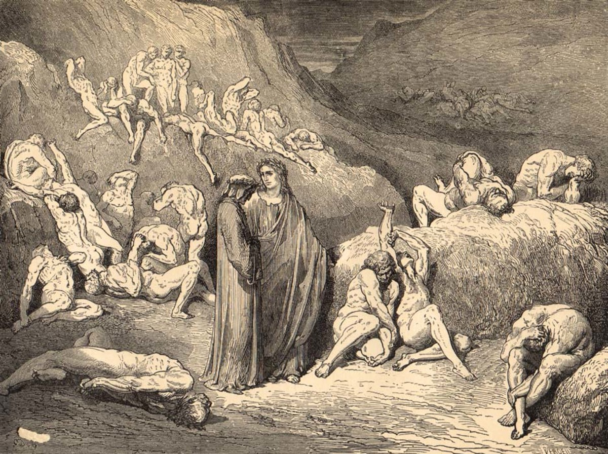 dantes inferno and sinners punishments The punishments in dauntes inferno are fair  dante's punishmentsdocx - the punishments in  the sinners that dante encounters in the inferno are each punished.