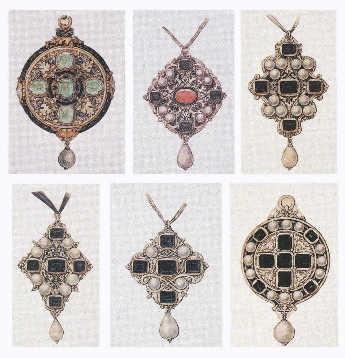 Original designs for Tudor jewelry.