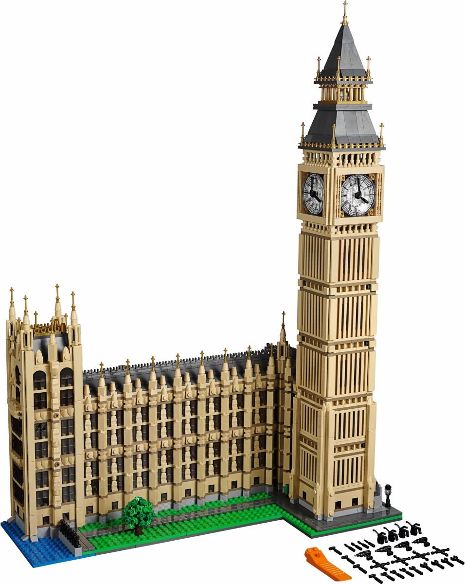 The BIGGEST Lego Buildings:  Eiffel Tower, Taj Mahal, Statue of Liberty, etc!