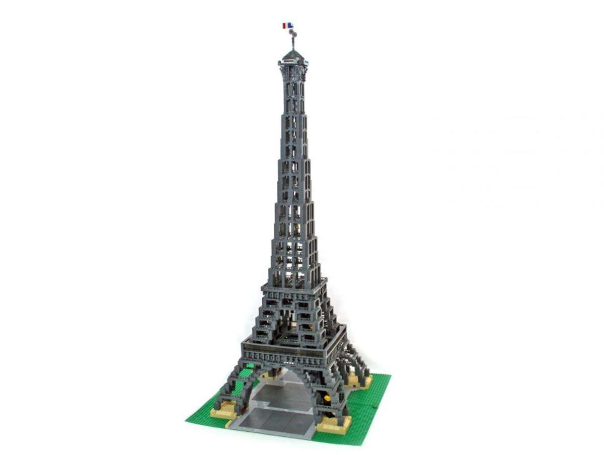 The BIGGEST Lego Buildings: Eiffel Tower, Taj Mahal ...