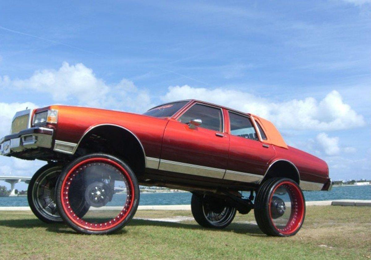 Custom Donk Cars