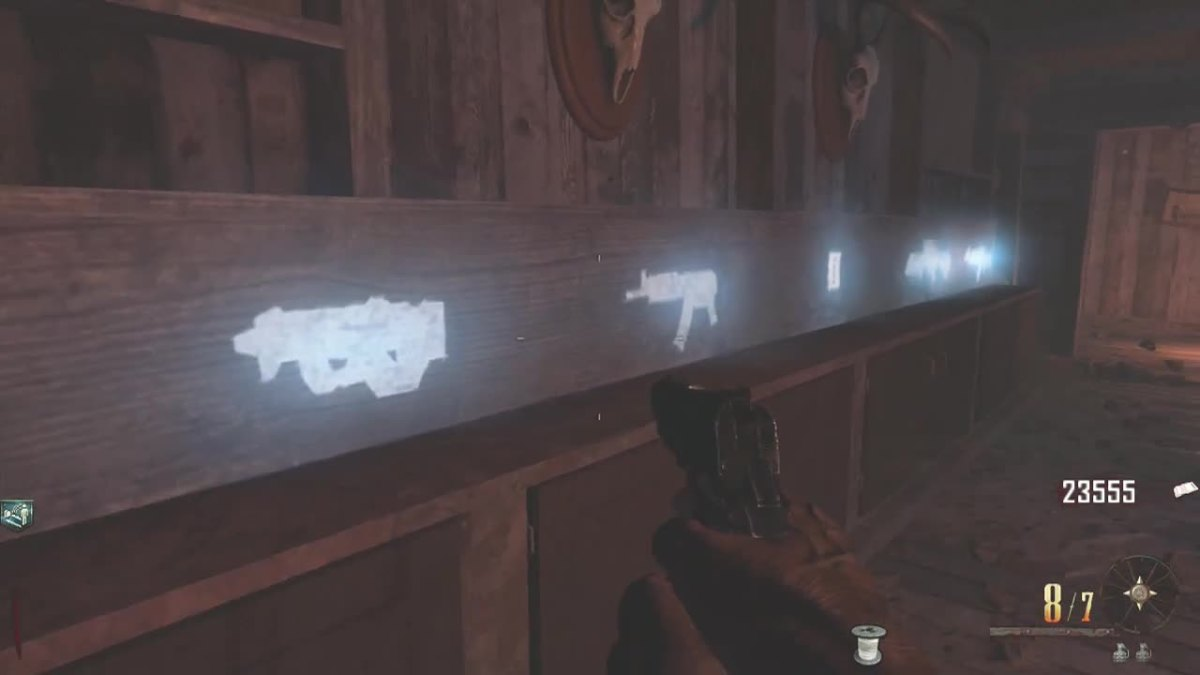 The Chalk Weapons are located in the Gunsmith building.