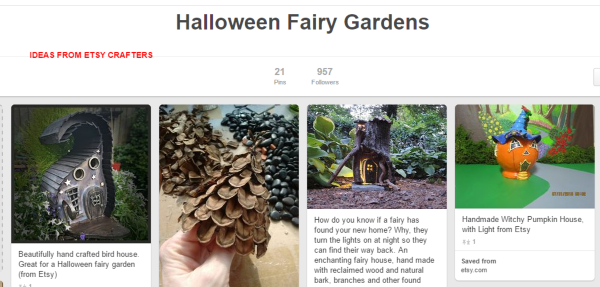 I pinned some of the great examples onto Pinterest from Etsy, so I could refer to them later. Aren't these marvelous!