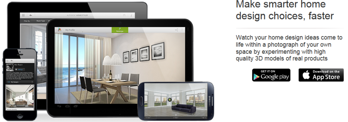 You can design from your tablet, smartphone, laptop or desktop.