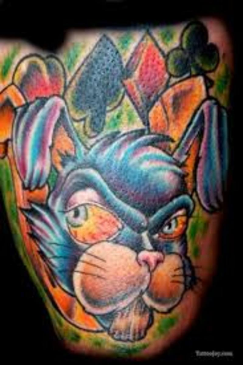 Rabbit Tattoos Designs And Ideas-Rabbit Tattoo Meanings And Pictures