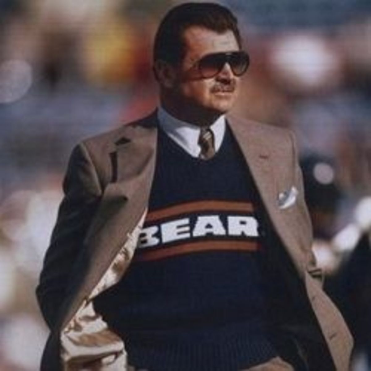 Mike Ditka Sweater Vest