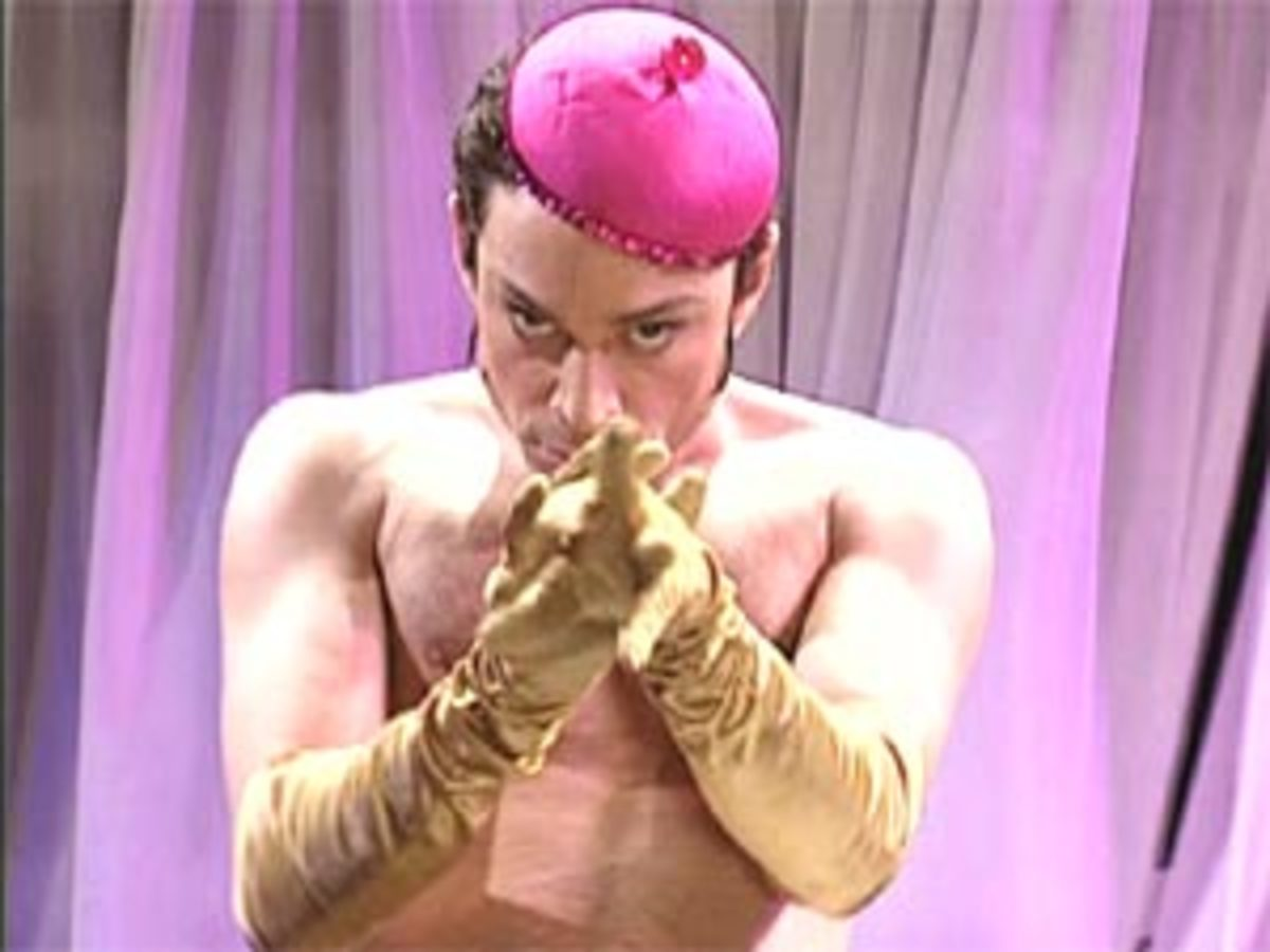 Chris Kattan as Mango  :)