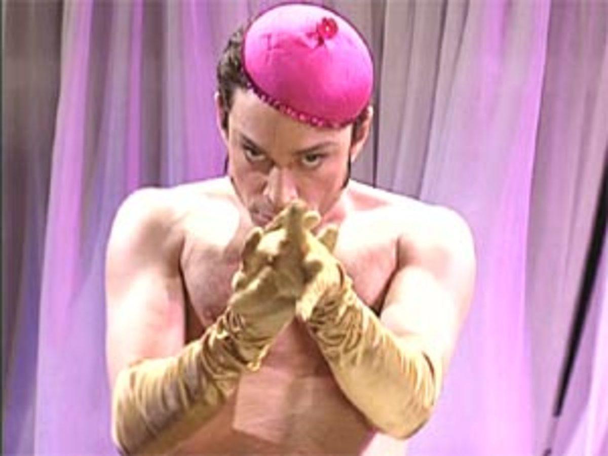 Chris Kattan as Mango  :)