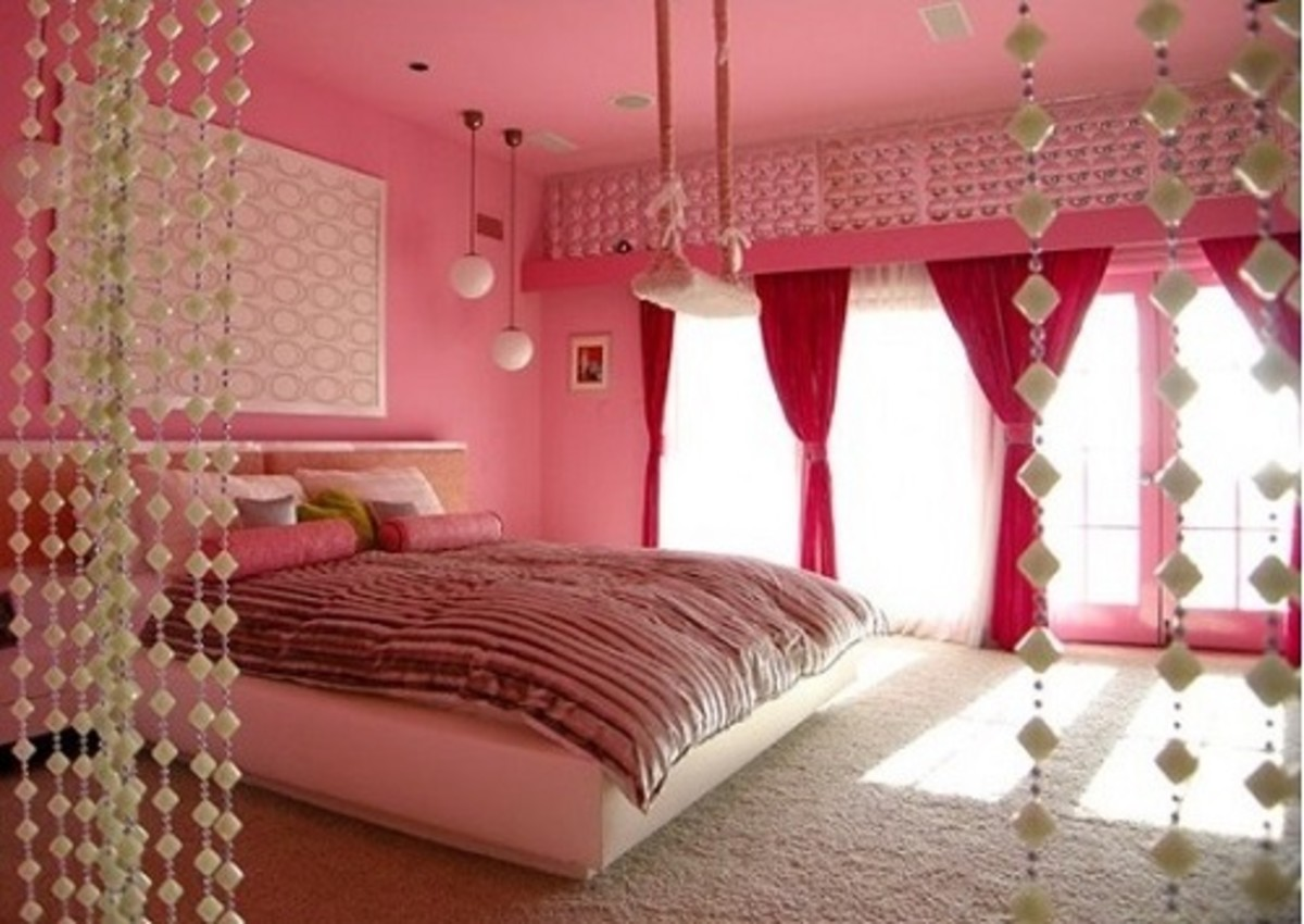 Lovely Pink Bedroom