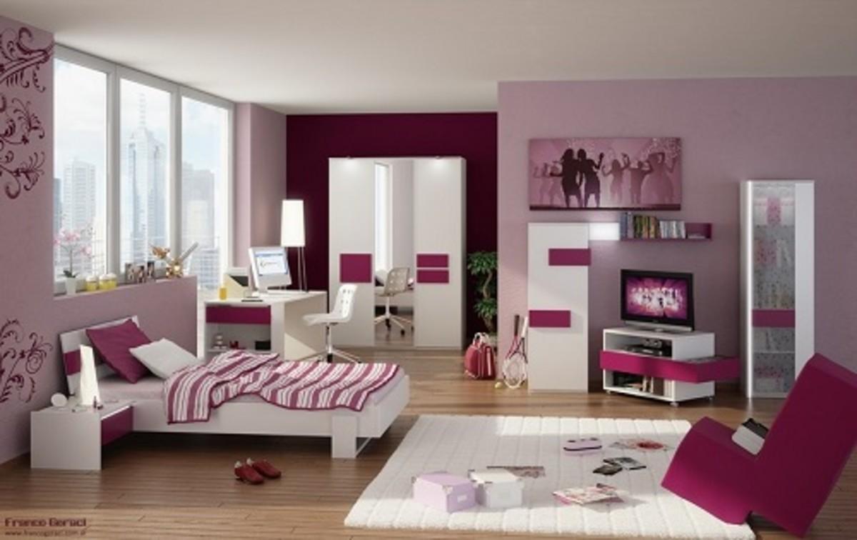 Beautiful Girl's Bedroom Decoration