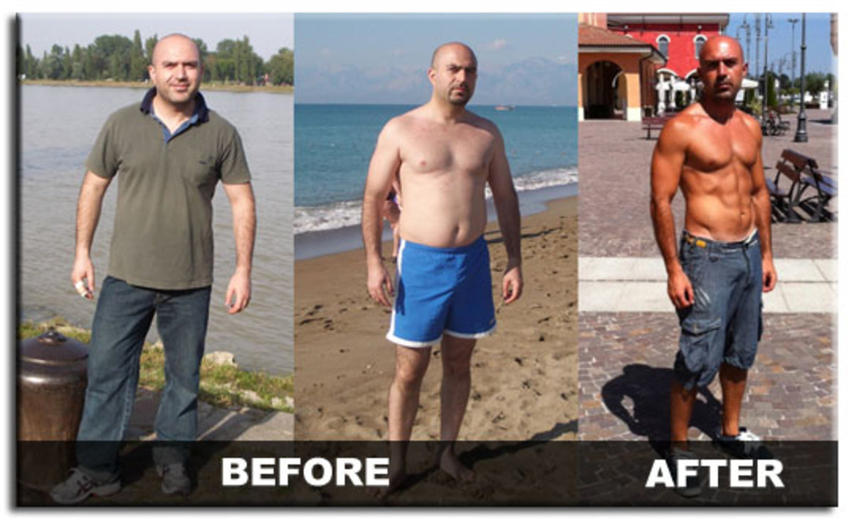 Warrior Diet - Before vs. After